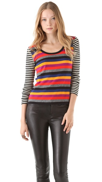 Sonia by Sonia Rykiel Multi Stripe Sweater