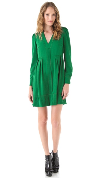 Sonia by Sonia Rykiel V Neck Dress