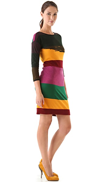 Sonia by Sonia Rykiel Colorblock Sweater Dress
