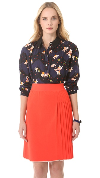 Sonia by Sonia Rykiel Daisy Printed Blouse