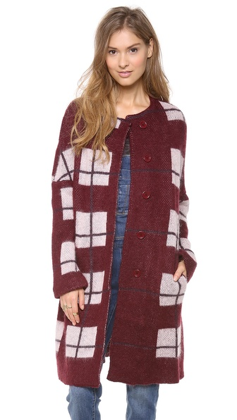 Sonia by Sonia Rykiel Printed Mohair Jacket