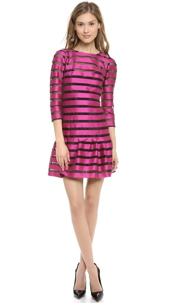 Sonia by Sonia Rykiel Striped Drop Waist Dress