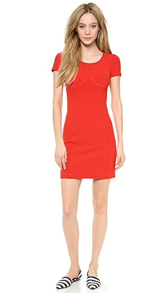 Sonia by Sonia Rykiel Short Sleeve Dress