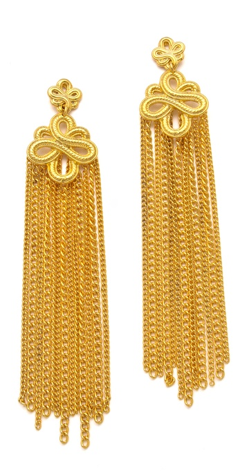 Soo Ihn Kim Portia Knot Earrings