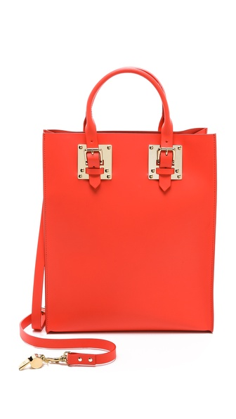 Sophie Hulme Structured Buckle Tote