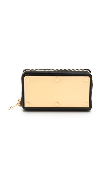Sophie Hulme Gold Box Wallet