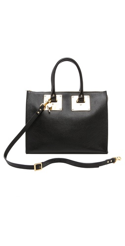 Sophie Hulme Zip Top Bowling Bag at Shopbop / East Dane