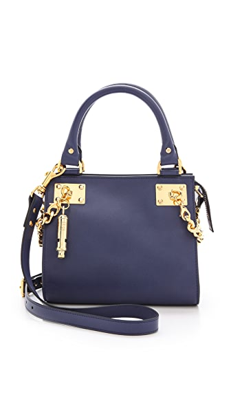 Sophie Hulme Mini Chain Side Shopper Bag
