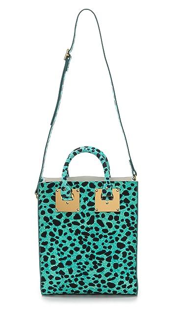 Sophie Hulme Leopard 迷你手提包