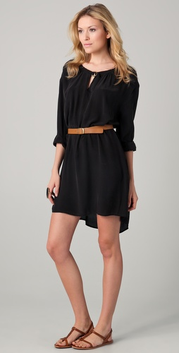 Sophomore Belted Dress