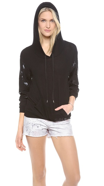 SoulCycle Hacci Sweatshirt with Skulls