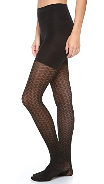 SPANX Tight End Peek-A-Boo Tights