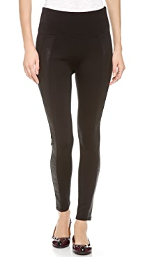 SPANX Ready to Wow Snakeskin Stripe Leggings
