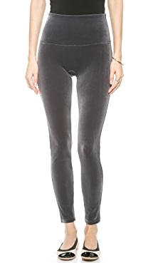 SPANX Ready to Wow Velvet Leggings