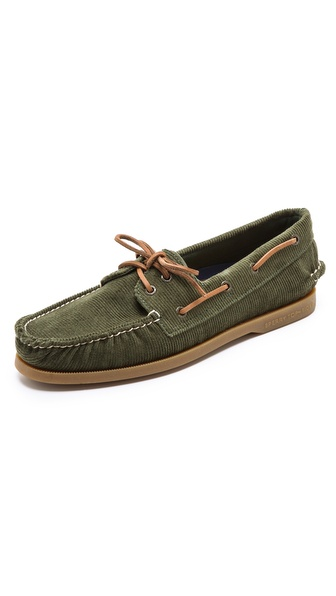 Sperry Top-Sider 2-Eye Corduroy Boat Shoes