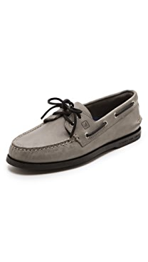Sperry Top-Sider A/O Classic Boat Shoes on Black Sole
