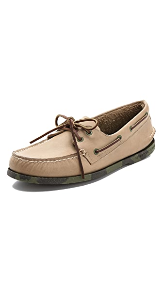 Sperry Top-Sider Camo Sole Boat Shoes