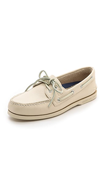 Sperry Top-Sider A/O Classic Boat Shoes on White Sole