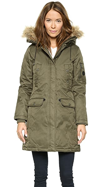 Spiewak Womens Aviation N3-B Faux Fur Parka