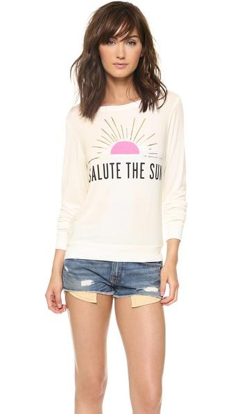 Spiritual Gangster Salute the Sun Sweatshirt