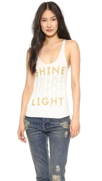 Spiritual Gangster Shine Light Tank