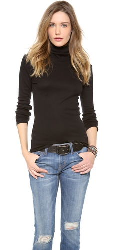 Splendid 1x1 Turtleneck at Shopbop / East Dane