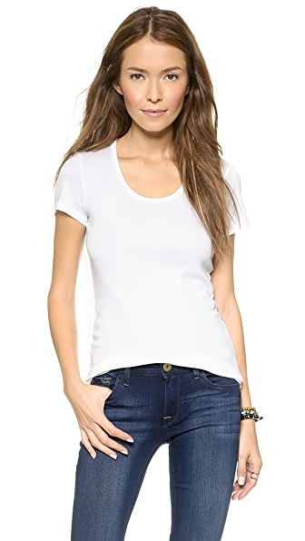 Splendid 1x1 Scoop Tee