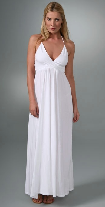 Splendid Modal V Neck Dress