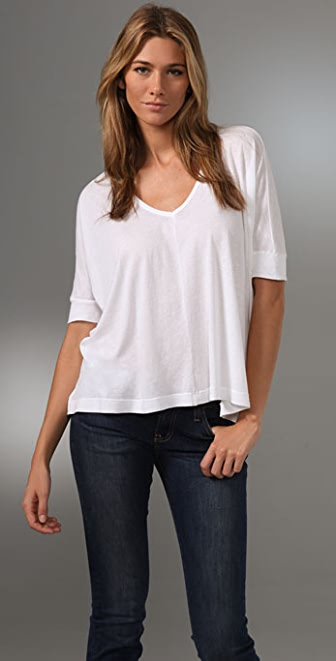 Splendid Vintage Whisper Draped Top