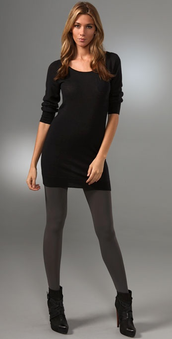Splendid Super Fine Cashmere Sweater Dress