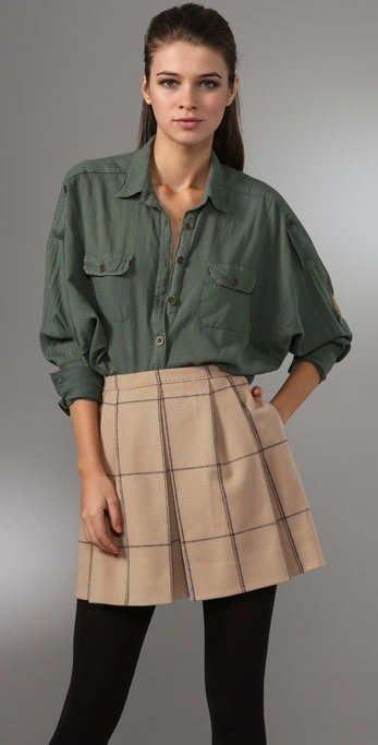Splendid Military Dolman Blouse