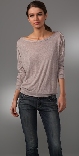 Splendid Poorboy Dolman Top