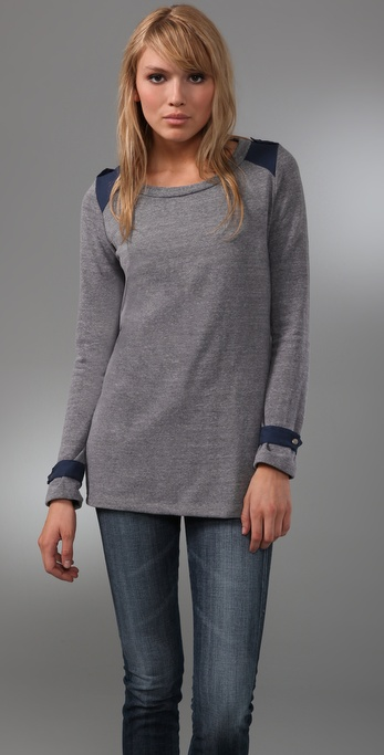 Splendid Sweatshirt Tunic