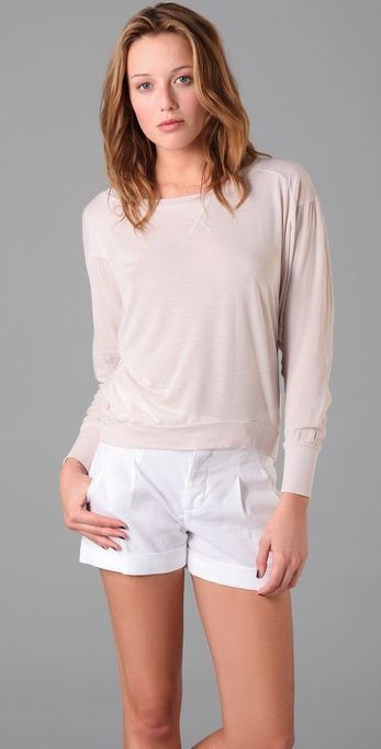 Splendid Melange Dolman Top