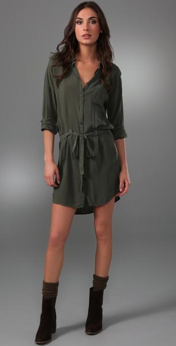 Splendid Button Up Dress