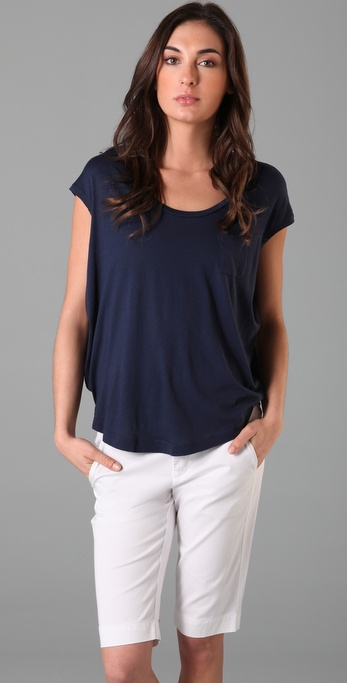 Splendid Very Light Jersey Circle Tee