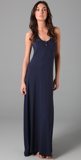 Splendid Supima Slub Maxi Dress