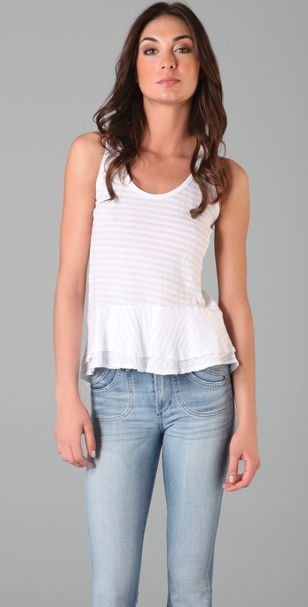 Splendid Shadow Stripe Tank