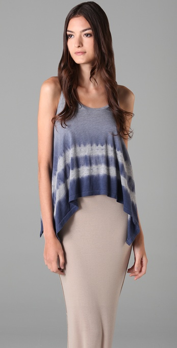 Splendid Faded Tie Dye Tank
