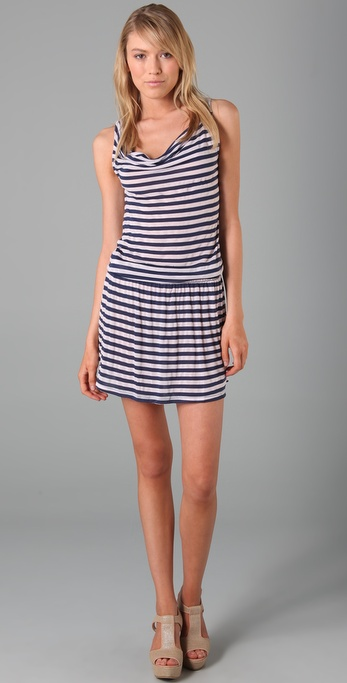Splendid Mini Rugby Stripe Dress