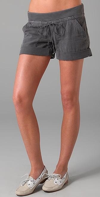 Splendid Double Gauze Shorts