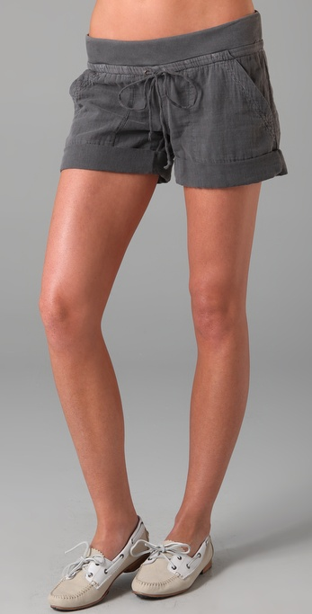Splendid Double Gauze Shorts