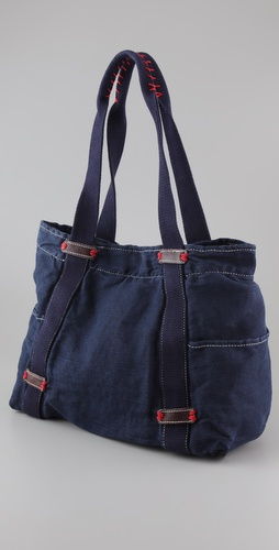 Splendid Solid Canvas Tote