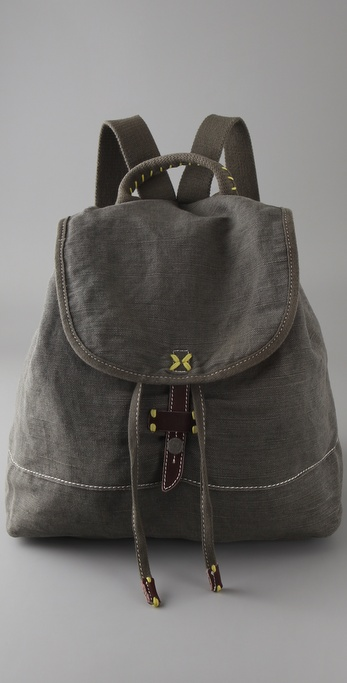 Splendid Solid Canvas Backpack