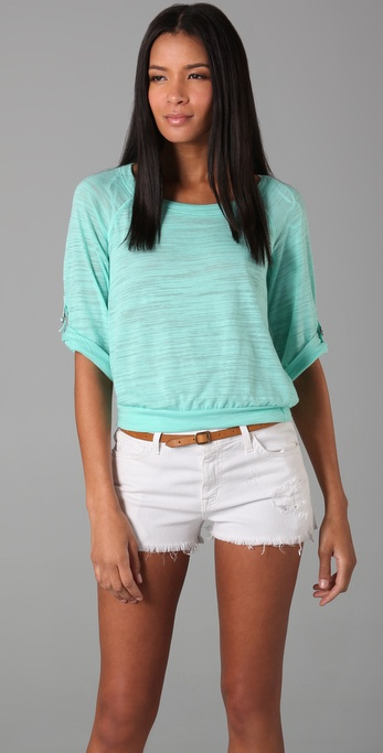 Splendid Loose Knit Top
