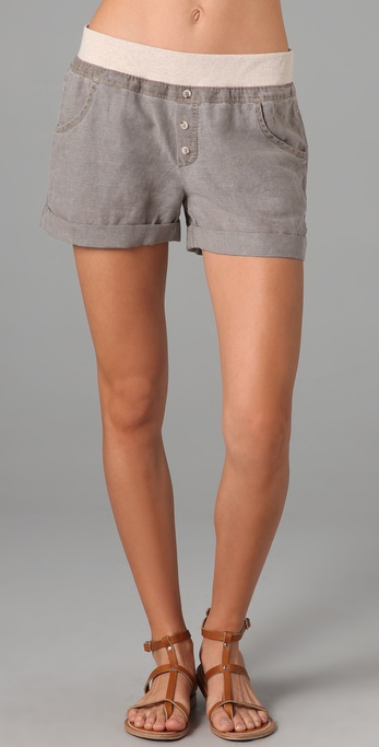 Splendid Linen Shorts