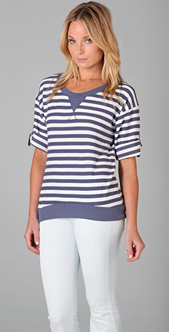 Splendid French Stripe Top