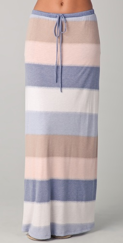 Splendid Mirage Stripe Maxi Skirt
