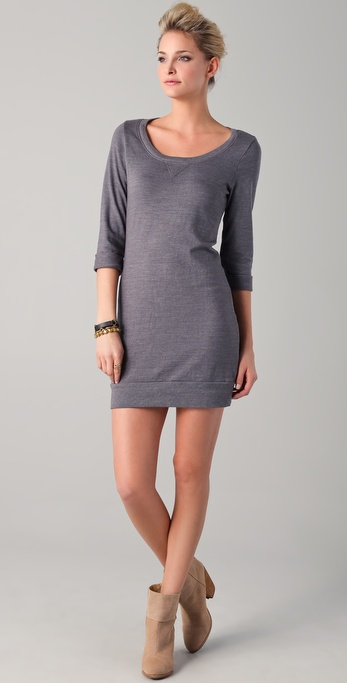 Splendid Active Always Sweatshirt Mini Dress