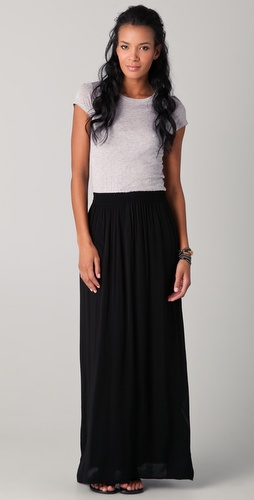 Splendid Heather Tee Maxi Dress